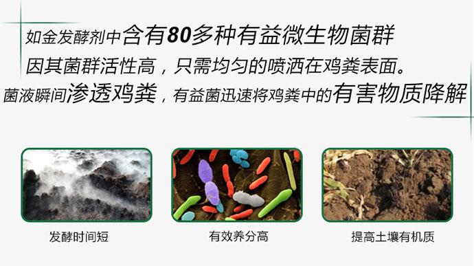 如金有机肥发酵剂